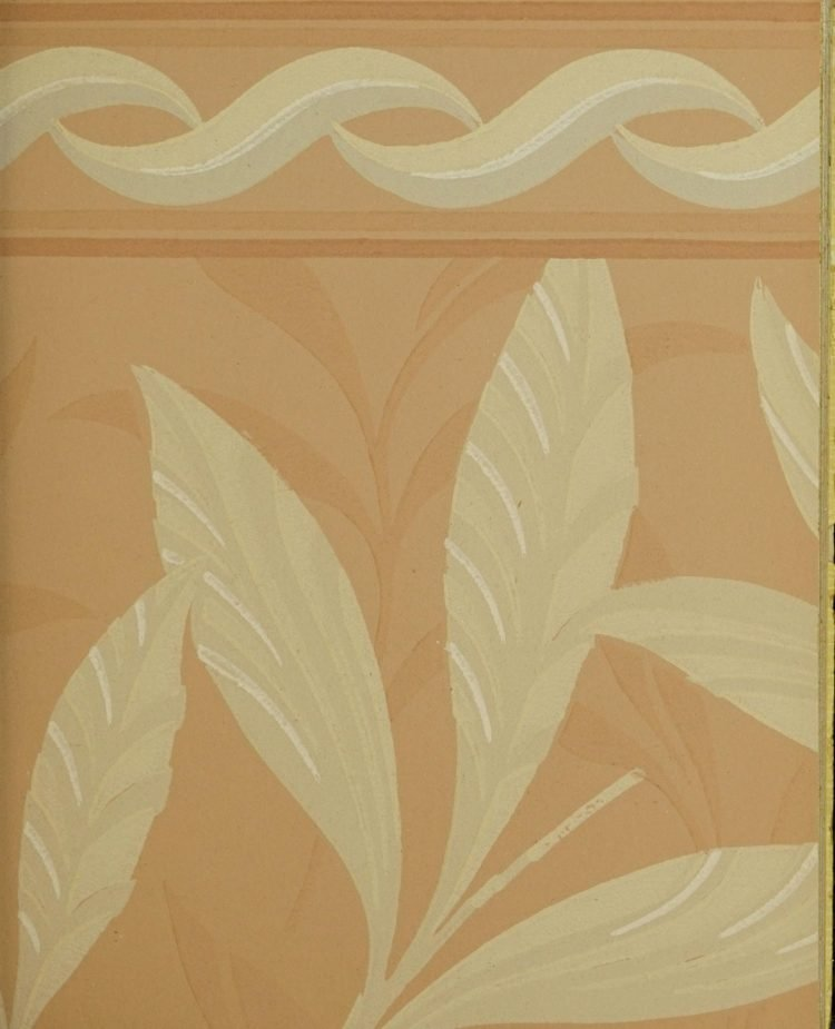 1940s vintage wallpaper from Ward's - 40s home decor (18)