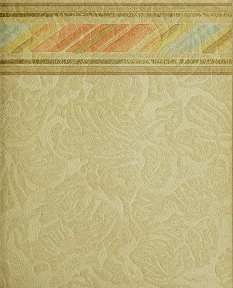 1940s vintage wallpaper from Ward's - 40s home decor (19)