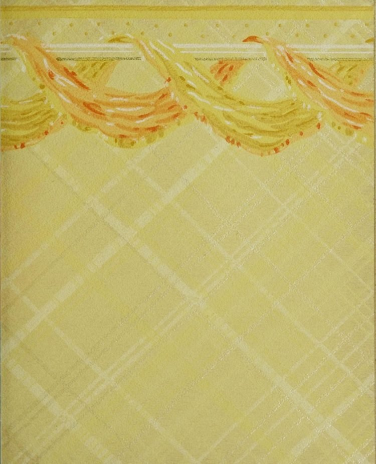 1940s vintage wallpaper from Ward's - 40s home decor (21)