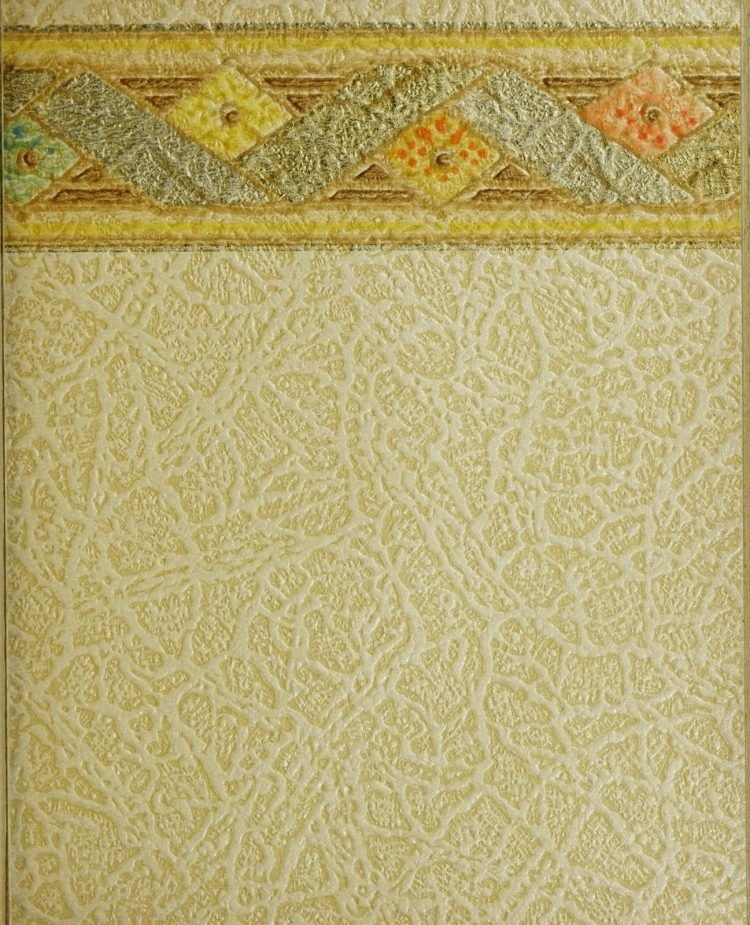1940s vintage wallpaper from Ward's - 40s home decor (22)