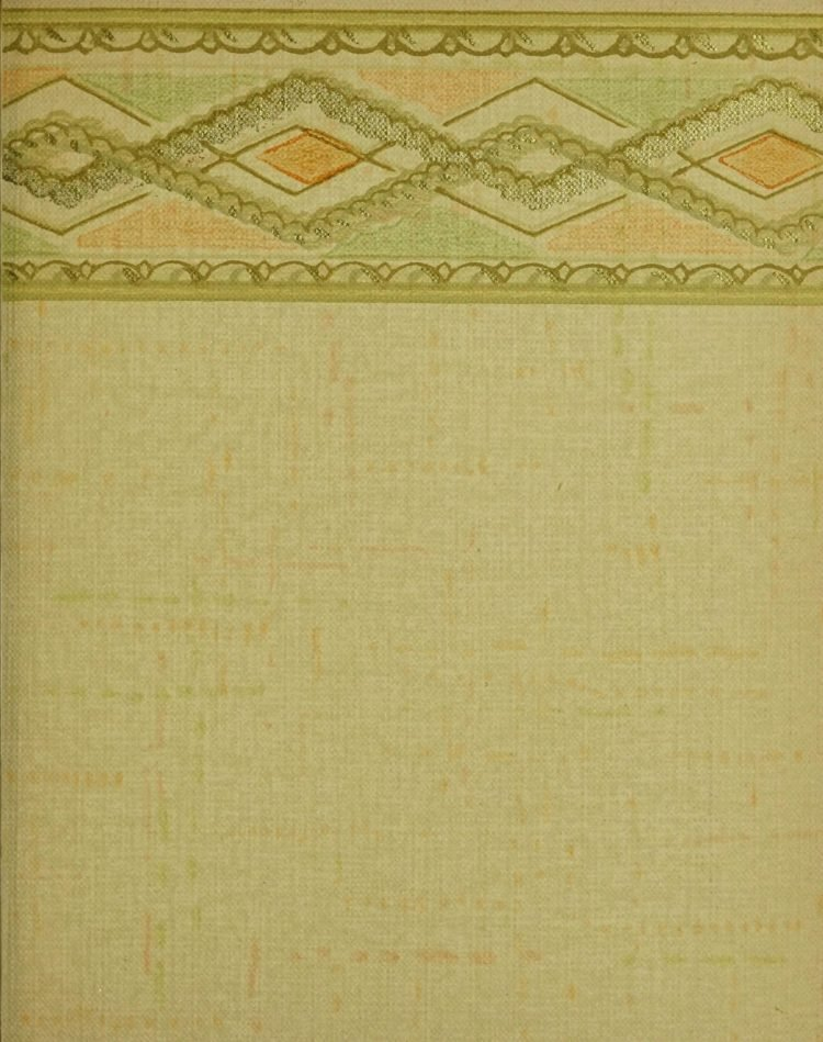 1940s vintage wallpaper from Ward's - 40s home decor (24)