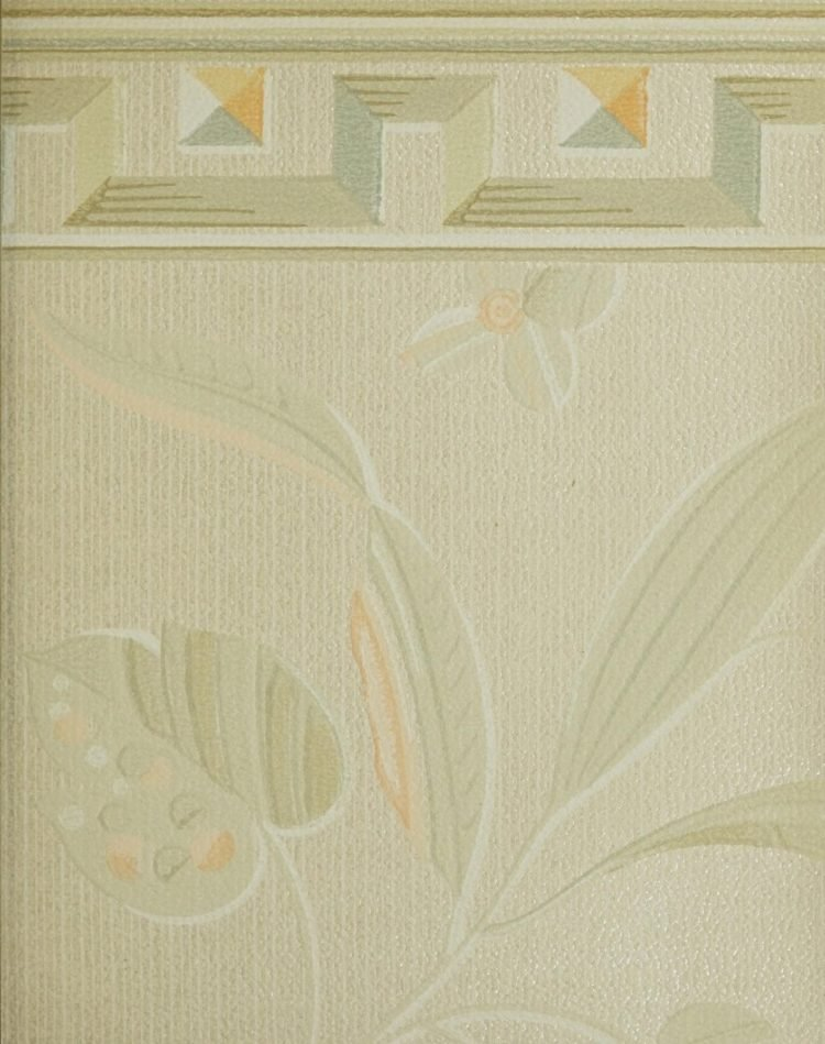 1940s vintage wallpaper from Ward's - 40s home decor (25)