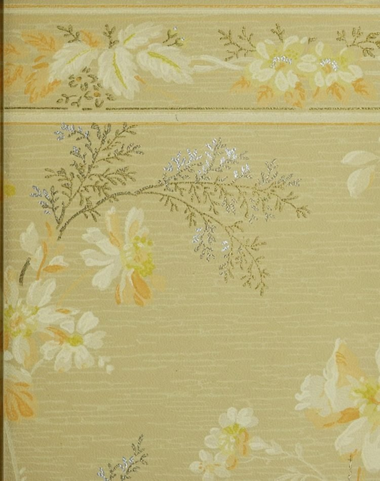 1940s vintage wallpaper from Ward's - 40s home decor (28)