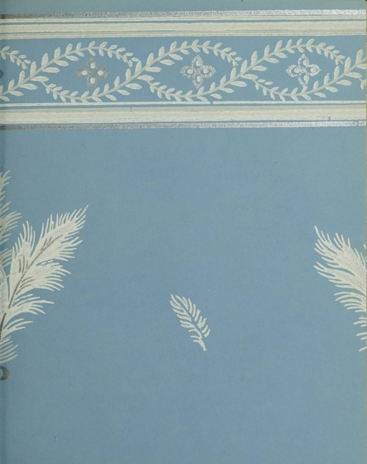 1940s vintage wallpaper from Ward's - 40s home decor (34)