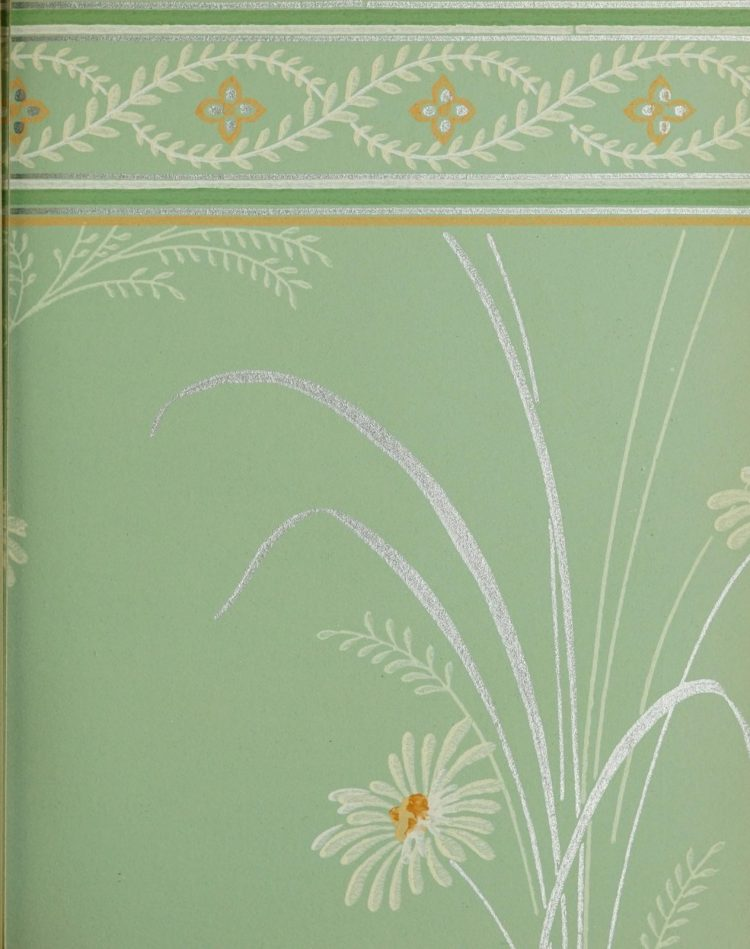 1940s vintage wallpaper from Ward's - 40s home decor (39)