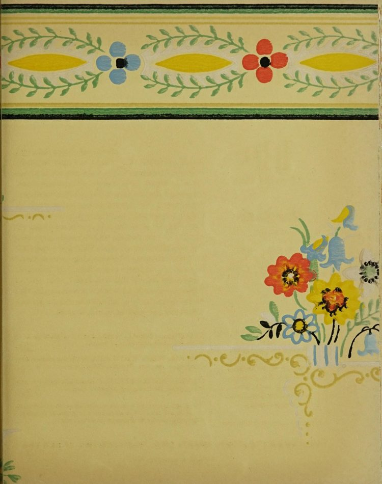 1940s vintage wallpaper from Ward's - 40s home decor (48)