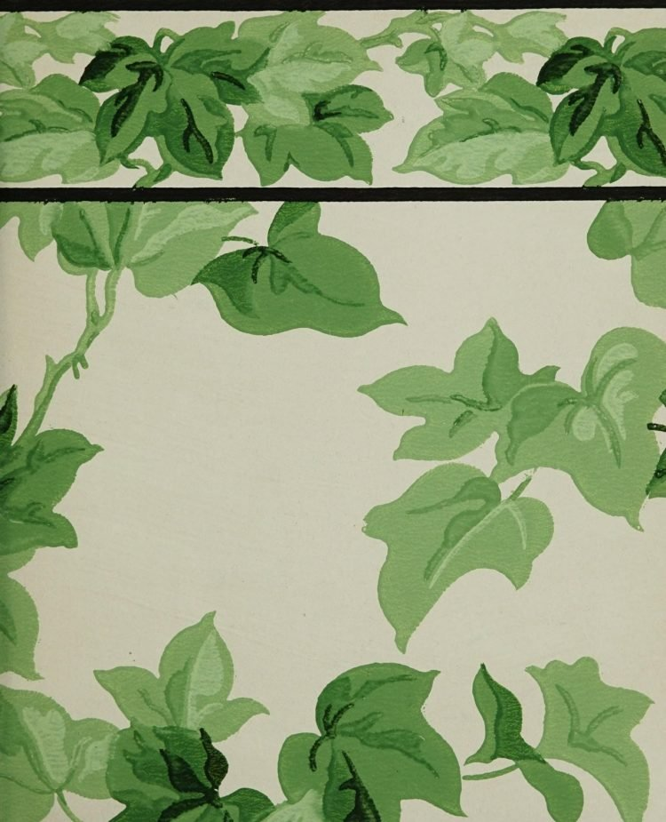 1940s vintage wallpaper from Ward's - 40s home decor (5)