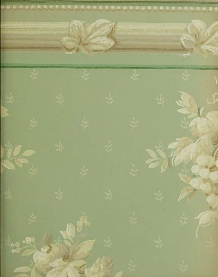 1940s vintage wallpaper from Ward's - 40s home decor (51)