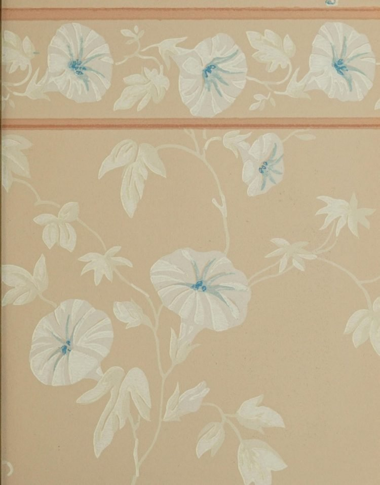 1940s vintage wallpaper from Ward's - 40s home decor (53)