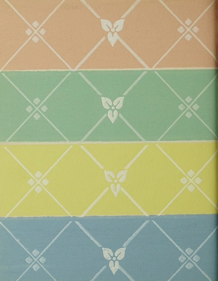 1940s vintage wallpaper from Ward's - 40s home decor (58)