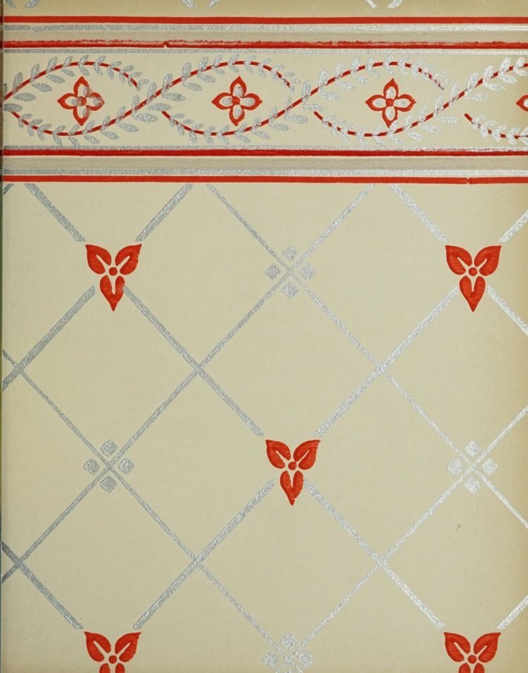 1940s vintage wallpaper from Ward's - 40s home decor (59)