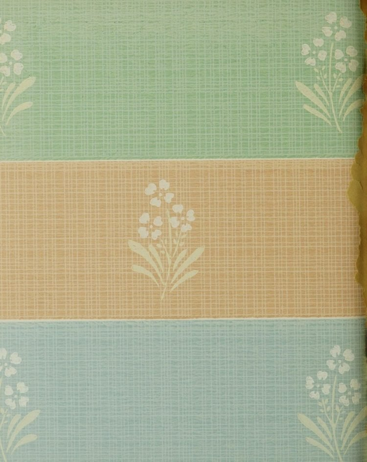 1940s vintage wallpaper from Ward's - 40s home decor (68)
