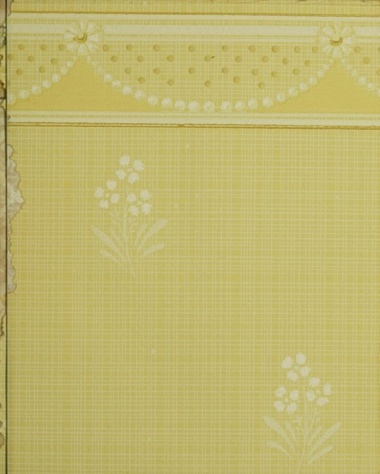 1940s vintage wallpaper from Ward's - 40s home decor (69)
