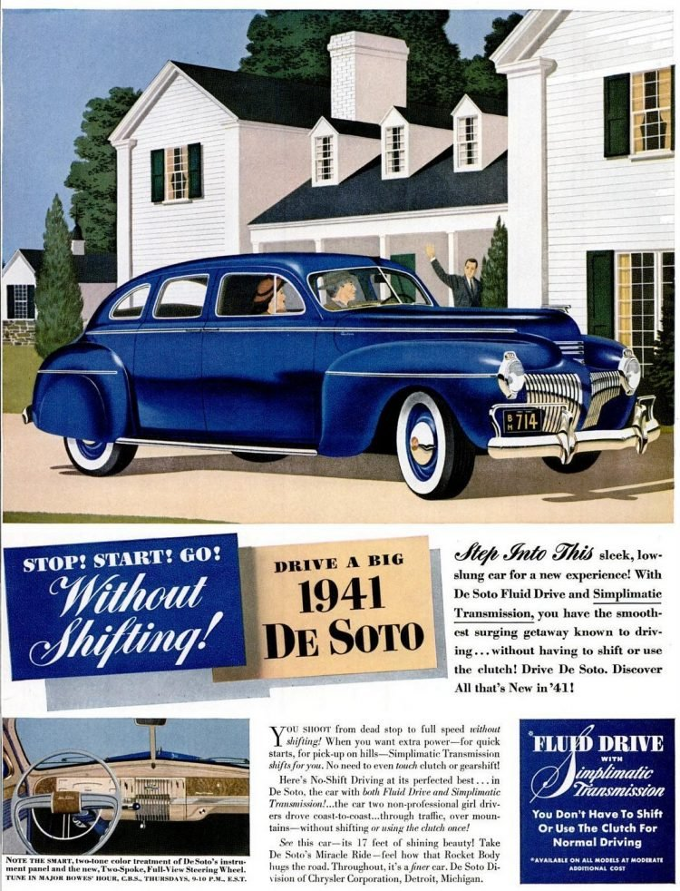 1941 De Soto car