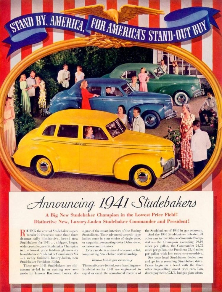 1941 Studebaker cars debut