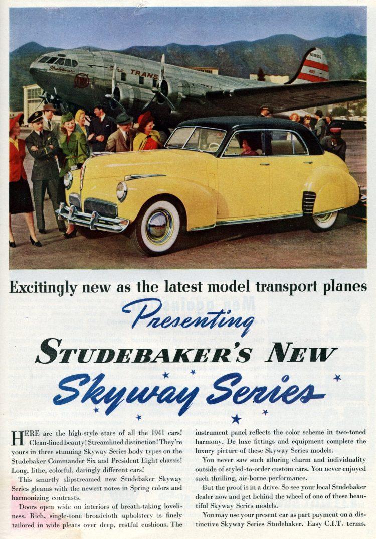 1941 Studebaker classic cars