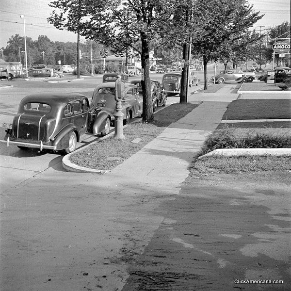Gasoline Station Near Me >> The day before gasoline rationing started (1942) - Click ...