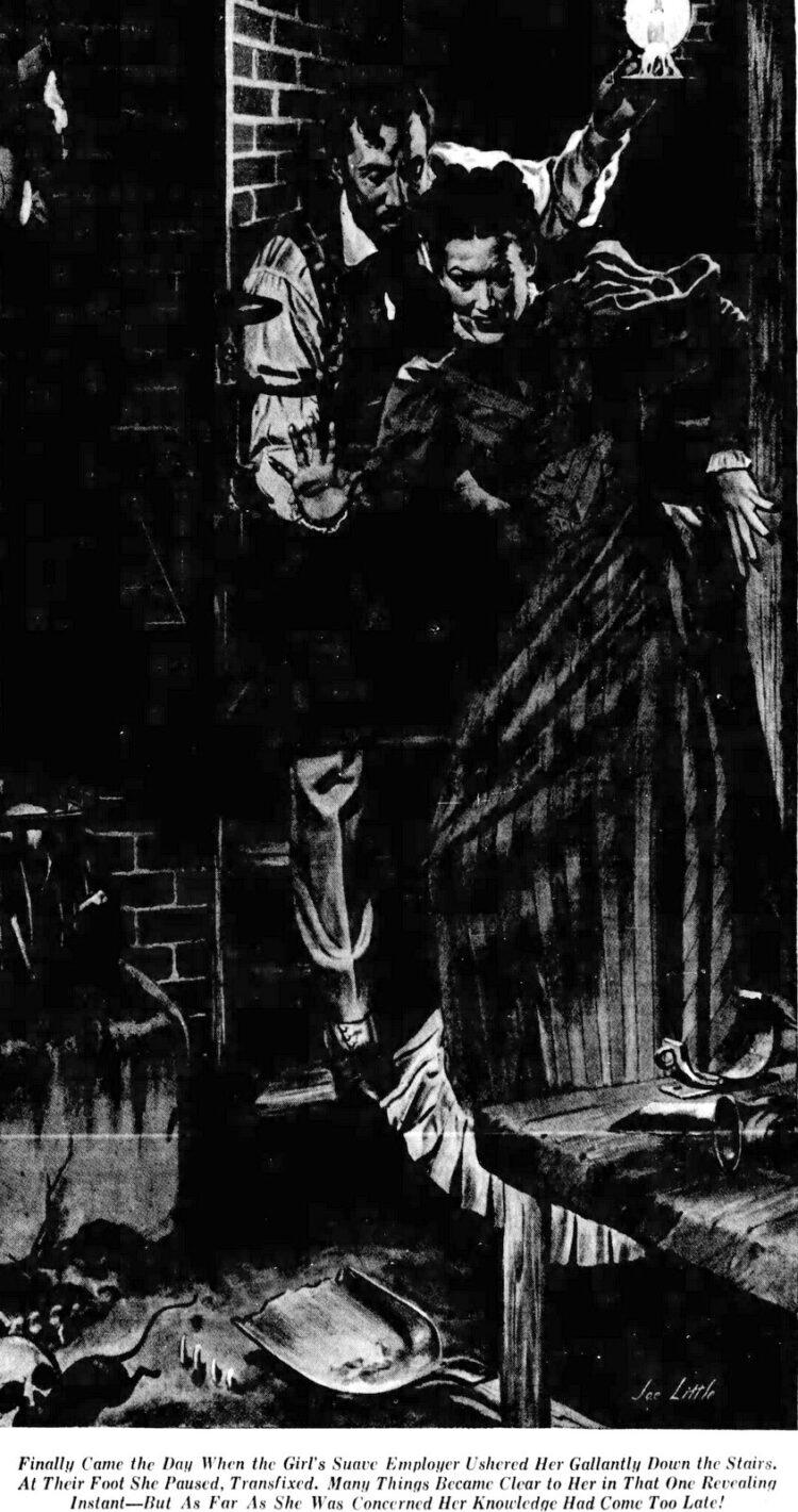 1943 San Francisco Examiner H H Holmes murder depiction