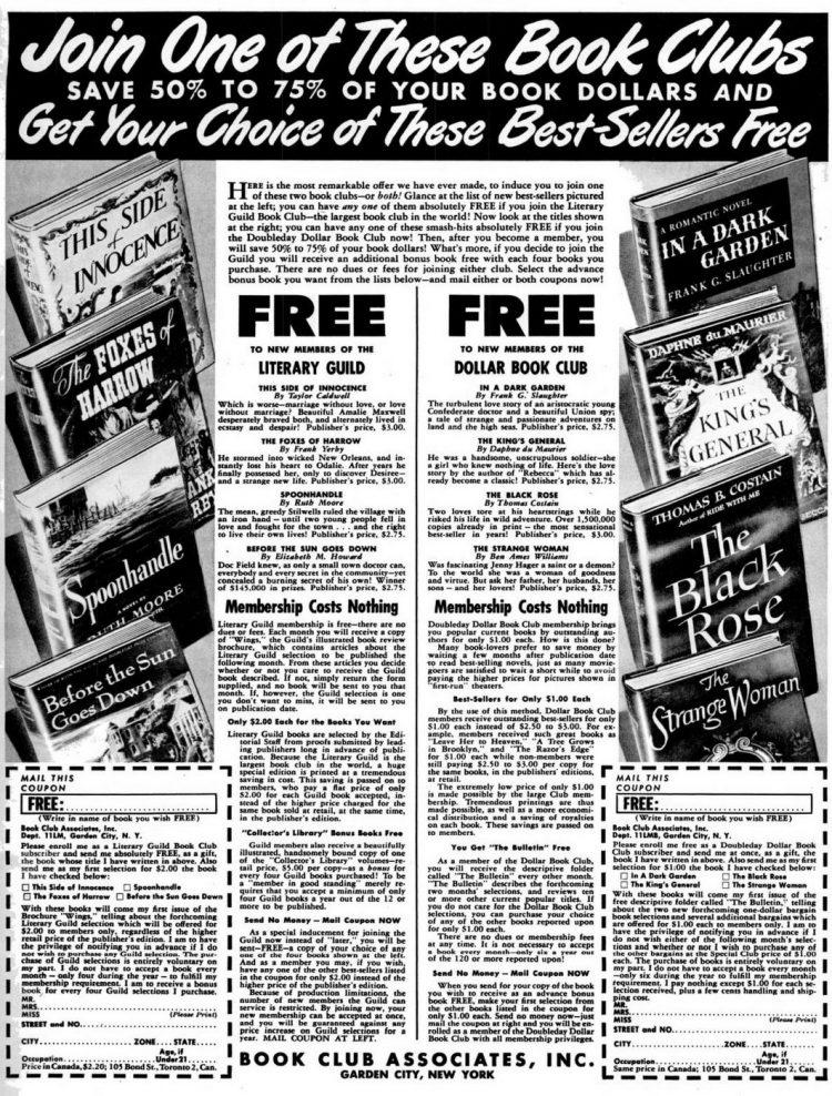 1946 Book Club Associates