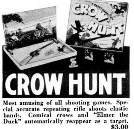 1947 board games - Crow Hunt