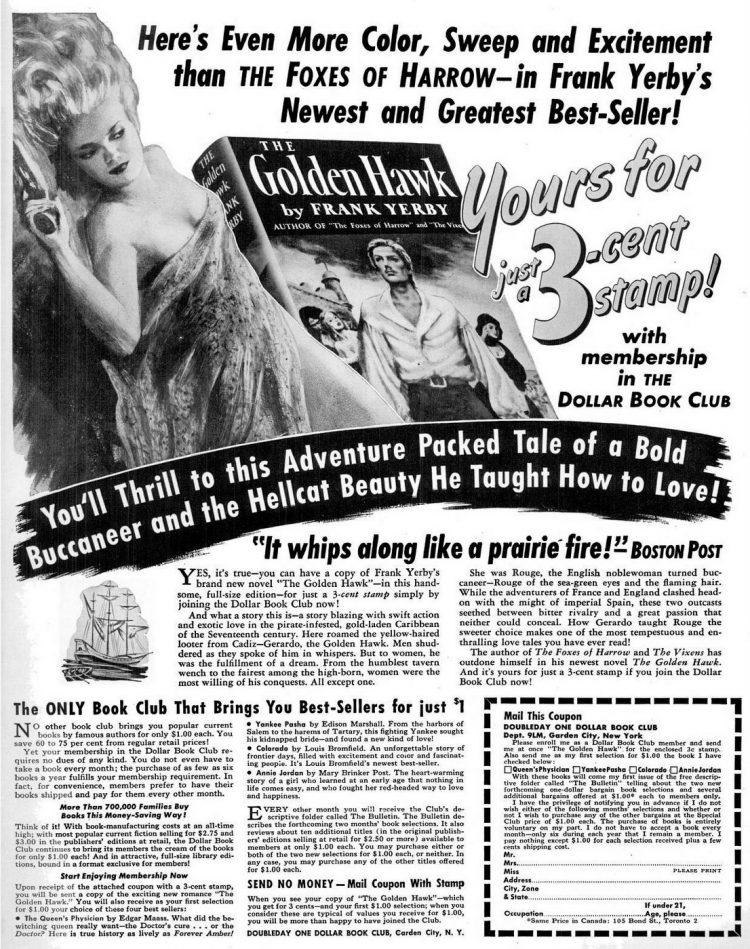 1948 Romance book club