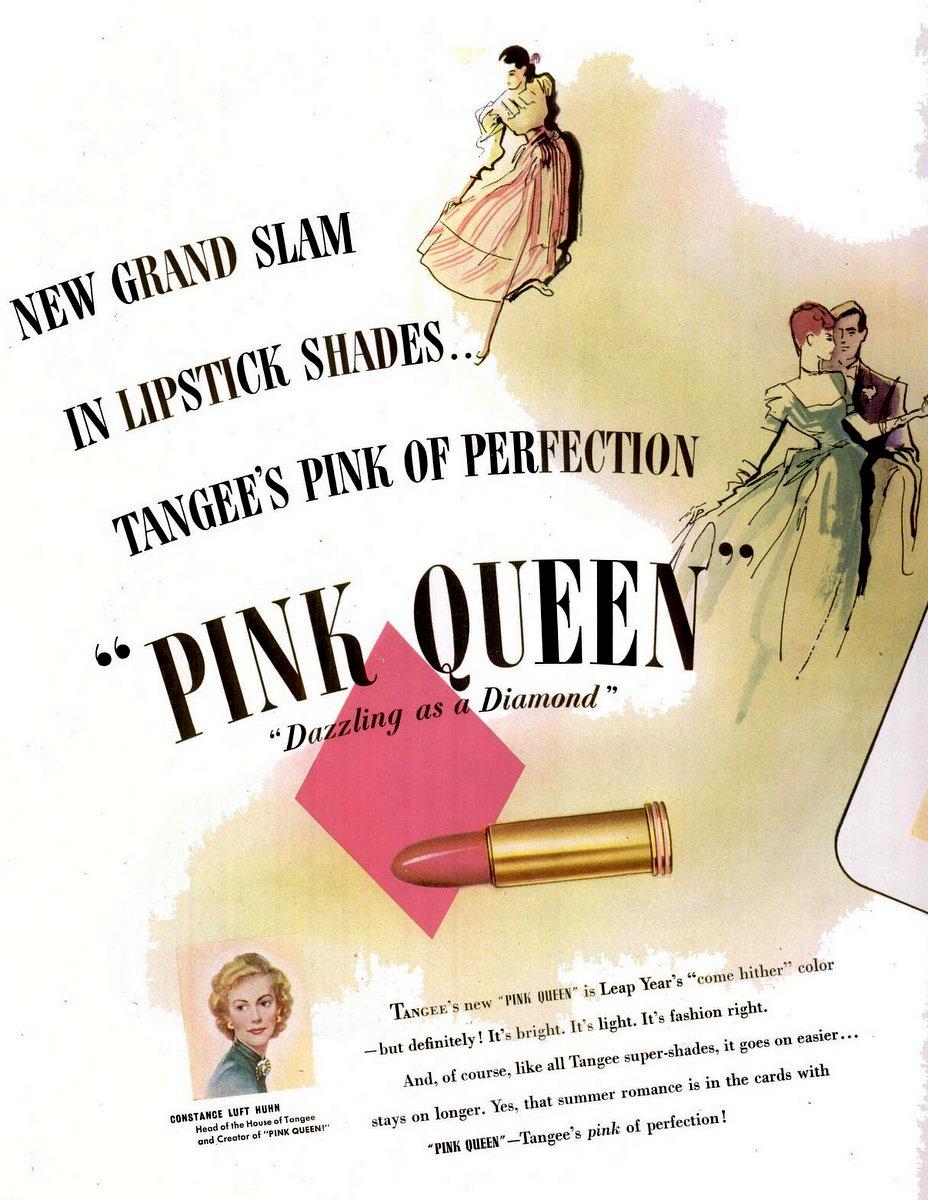 1948 Tangee lipstick