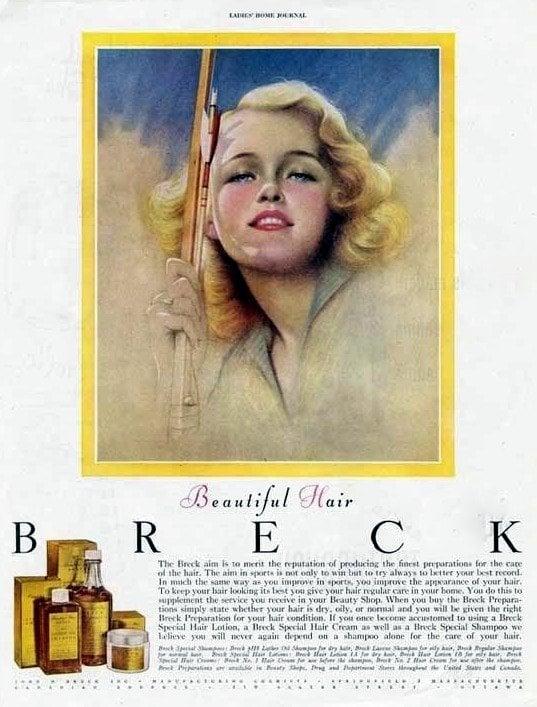 1948 - shampoo - Breck girl2