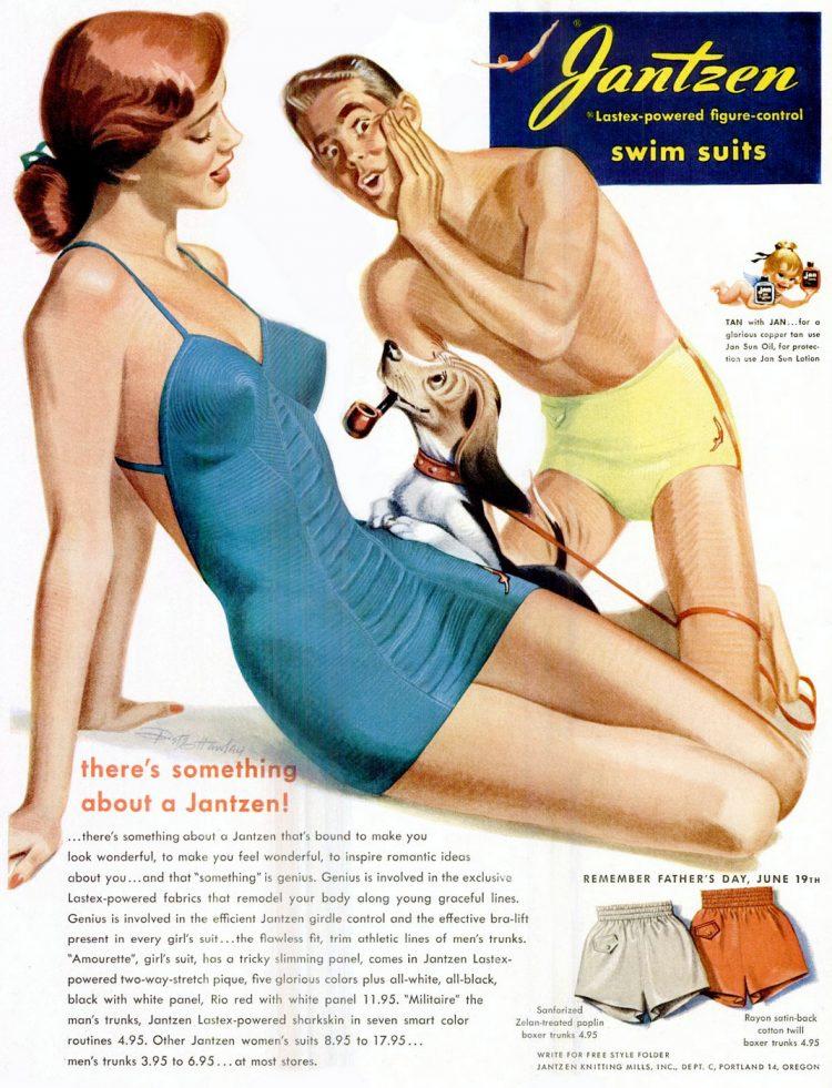1949 Jantzen swimwear