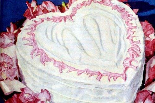 1949 Sweetheart Valentine's Day cake