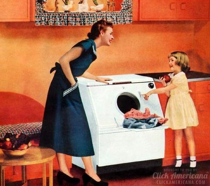 1950 Ad Westinghouse Laundromat Washing Machine