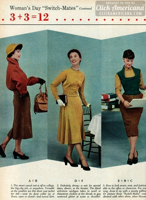 1950-Combine 6 pieces for 12 outfits (1)