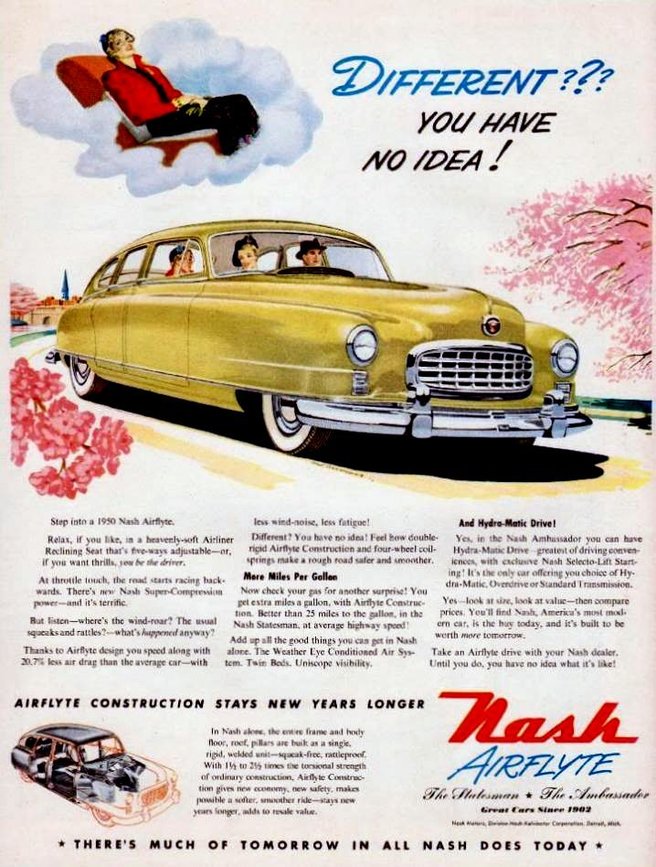 1950 Nash Airflyte Car