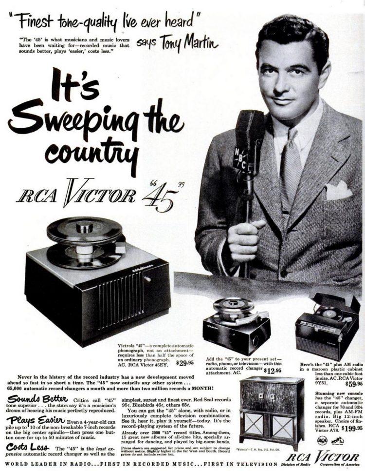 1950 RCA Victor 45