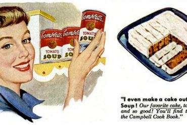 1950 Tomato soup cake