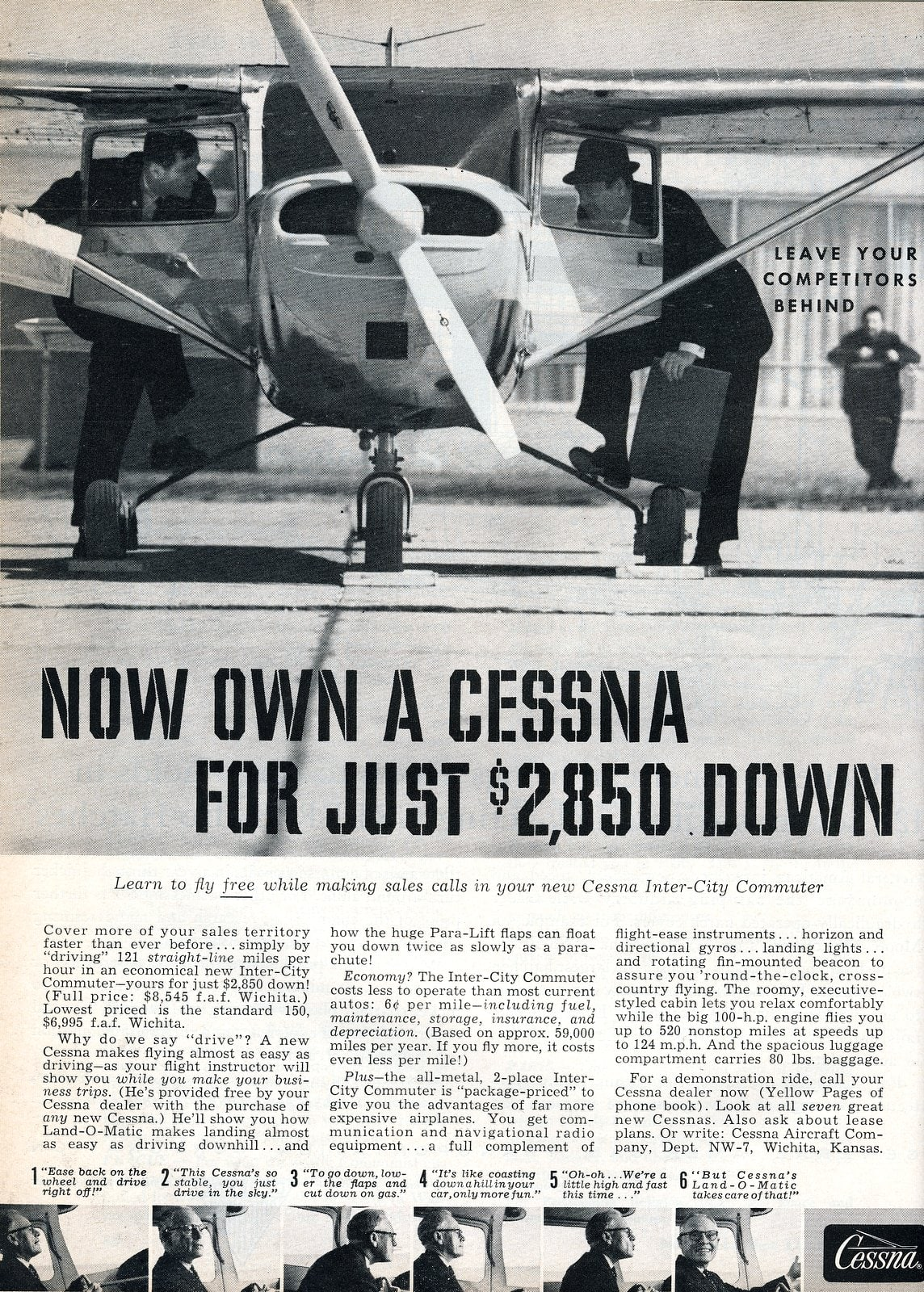 1950s Cessna propeller airplanes (1959)
