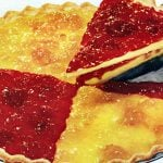 1950s Strawberry-peach dessert pizza It's a flaky party pie