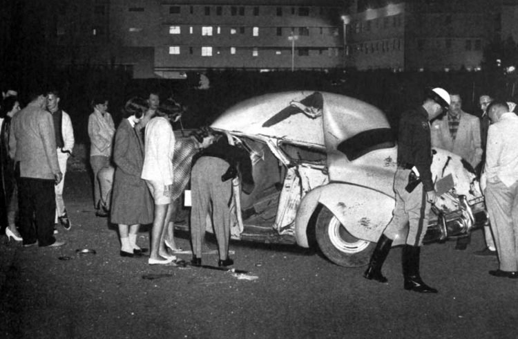 1950s car accident scenes from 1958 (1)