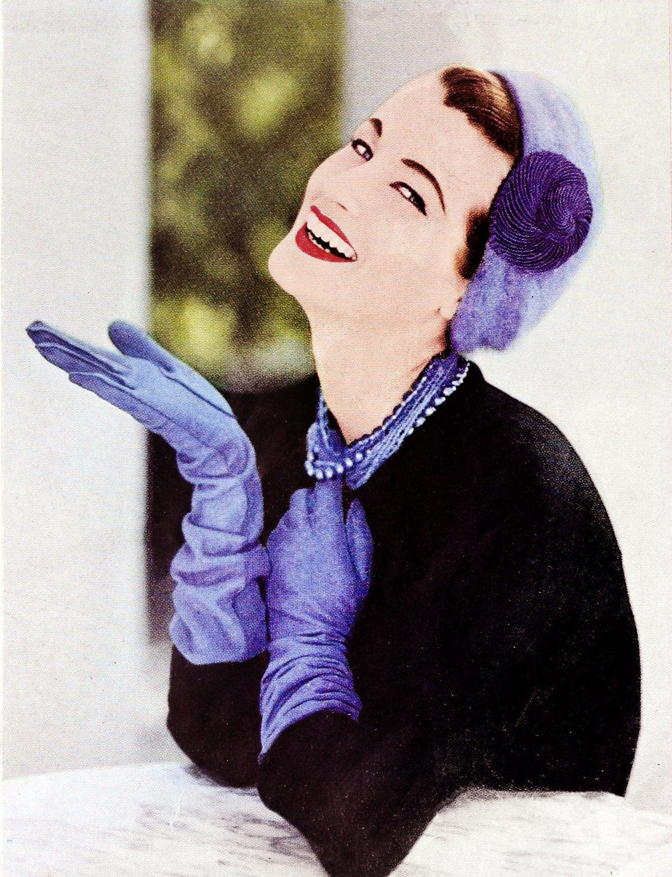 1950s gloves for women