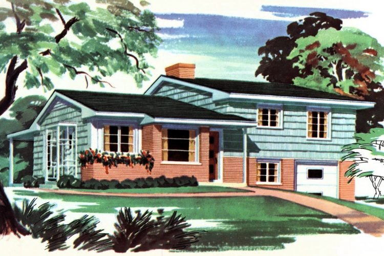 1950s home remodel