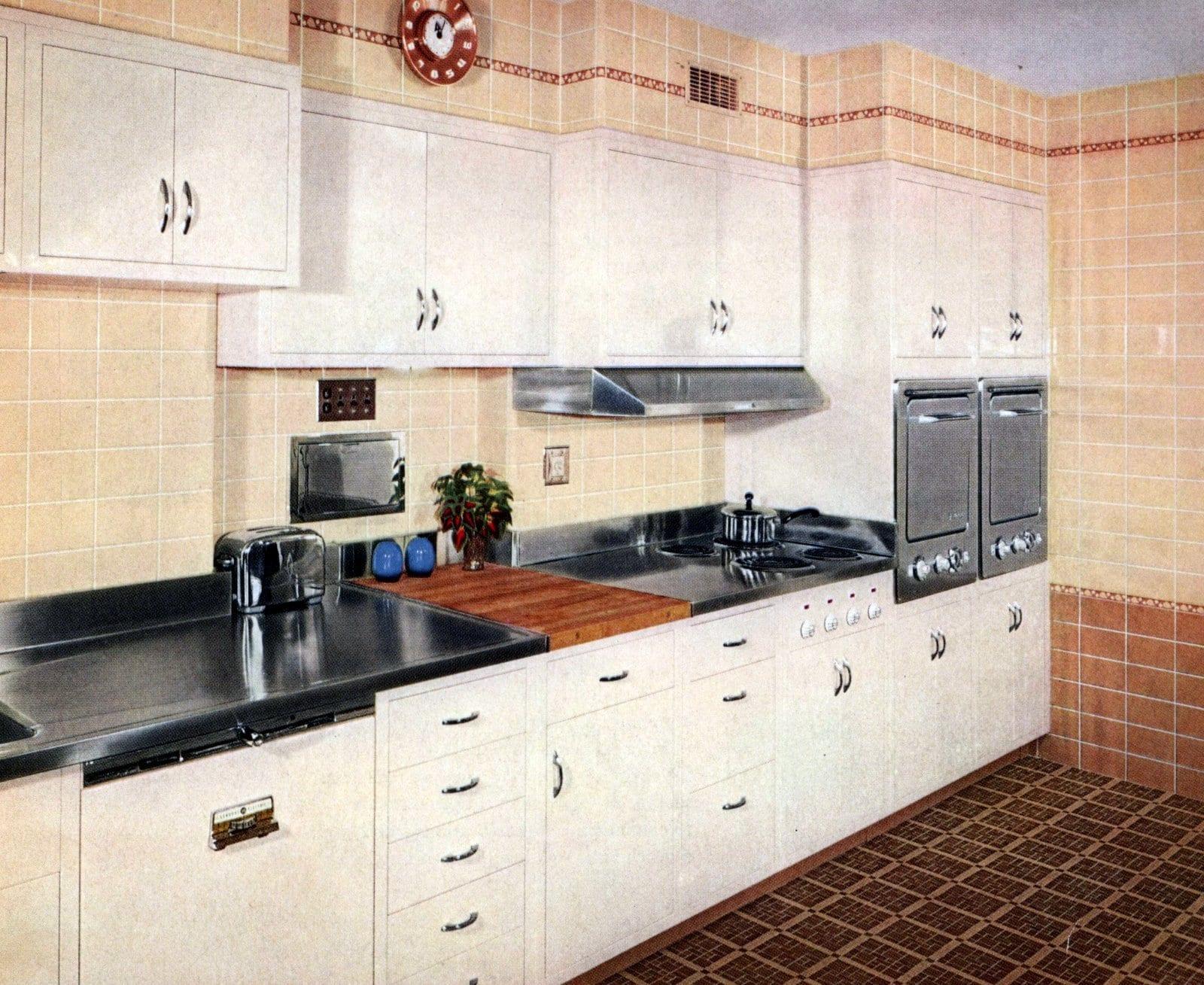 1950s kitchen tile ideas