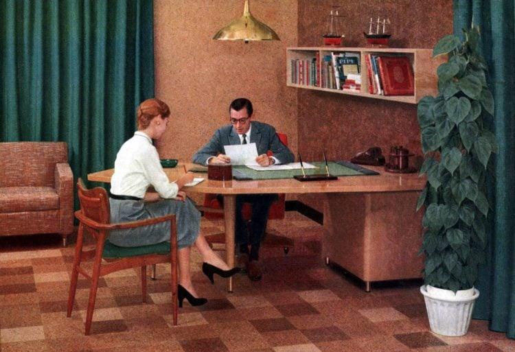 1950s secretary and boss - find a husband