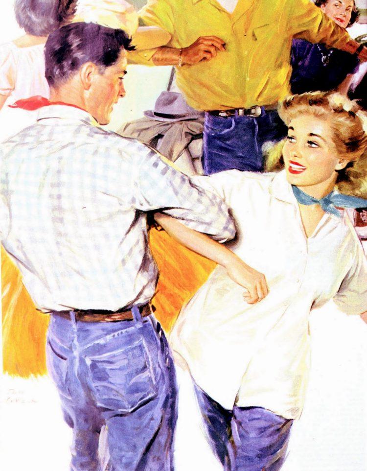 1950s square dancing