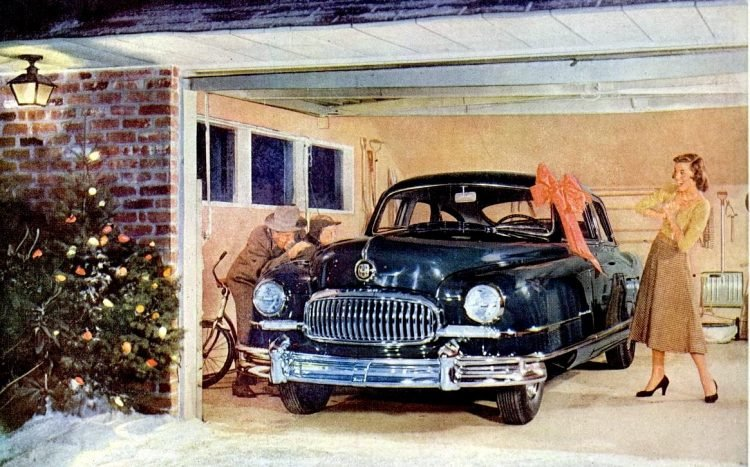 1951 Nash car for a gift