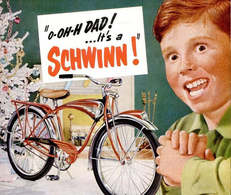 1951 Schwinn bike for Christmas