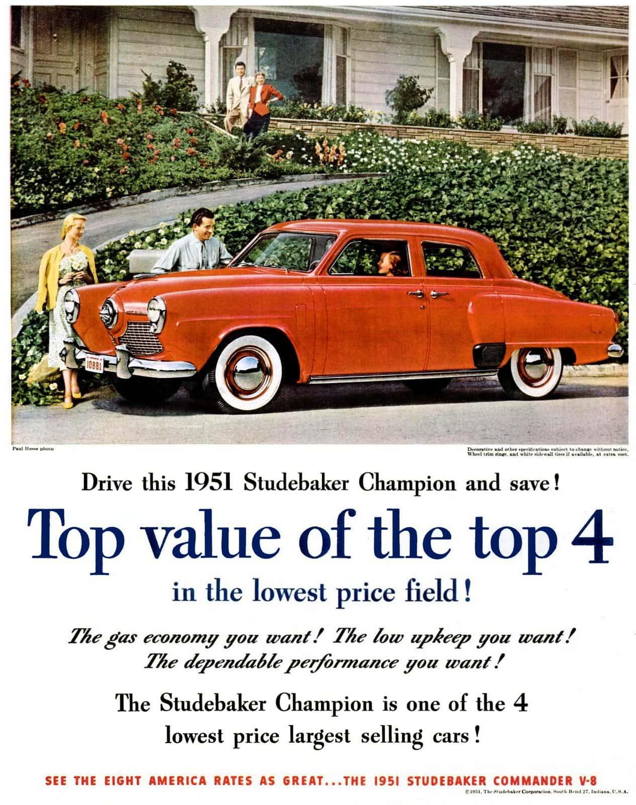 1951 Studebaker Champion - Classic cars