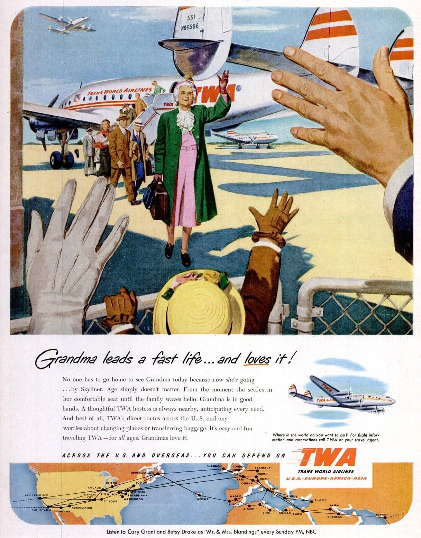 1951 TWA planes