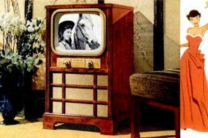 1951 Vintage GE televisions