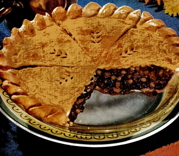 1951 mince pie whole