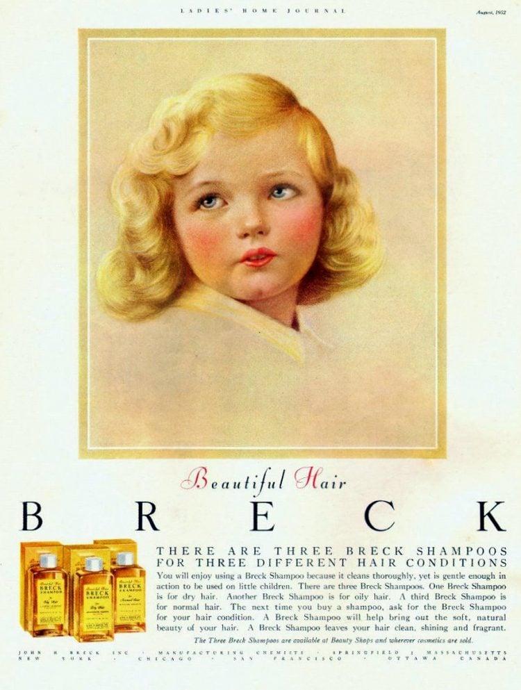 1952 - Breck girl - shampoo
