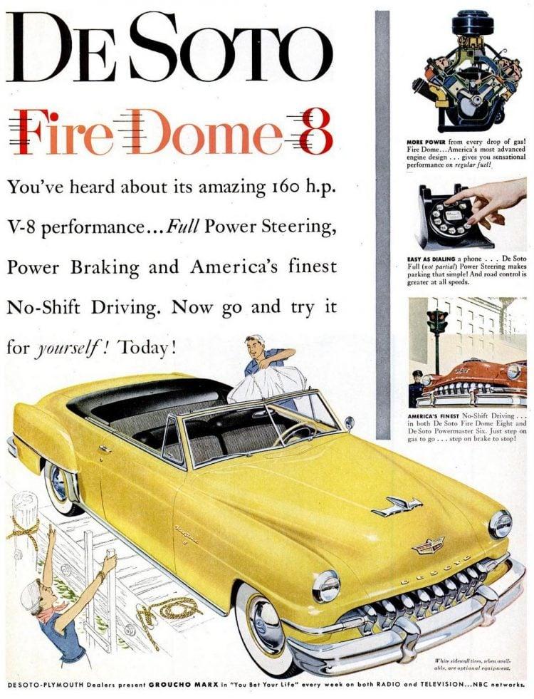 1952 De Soto cars